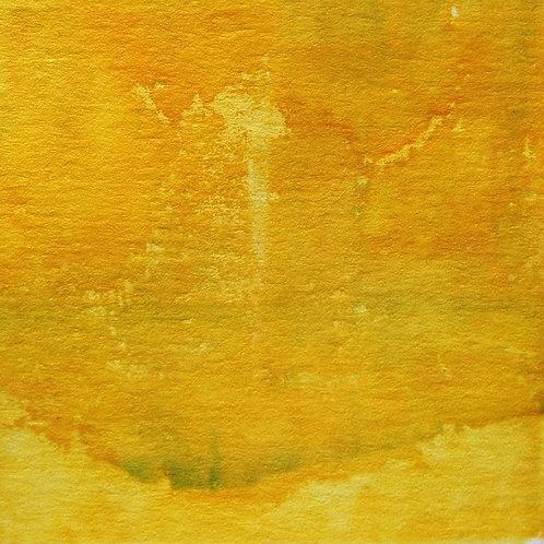 Yellow Abstract by Katrina Dallamore