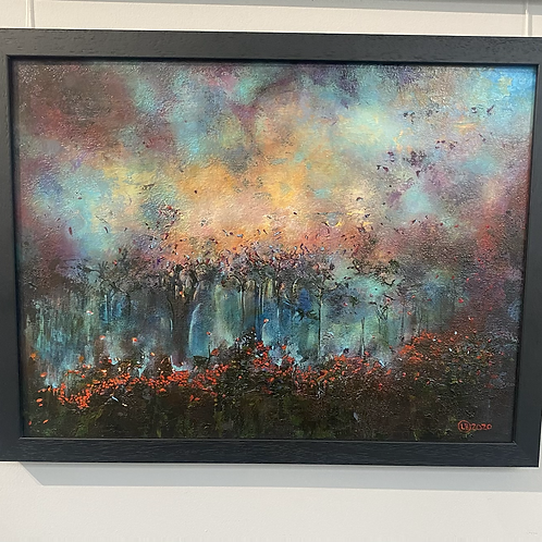 Stormy night by Linda Bristow