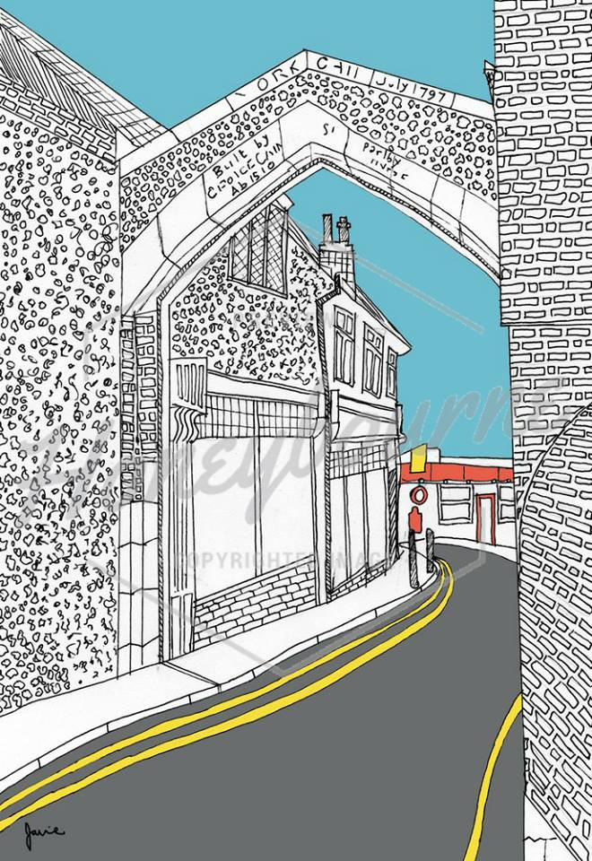Love York Gate by Jamie Honeybourne