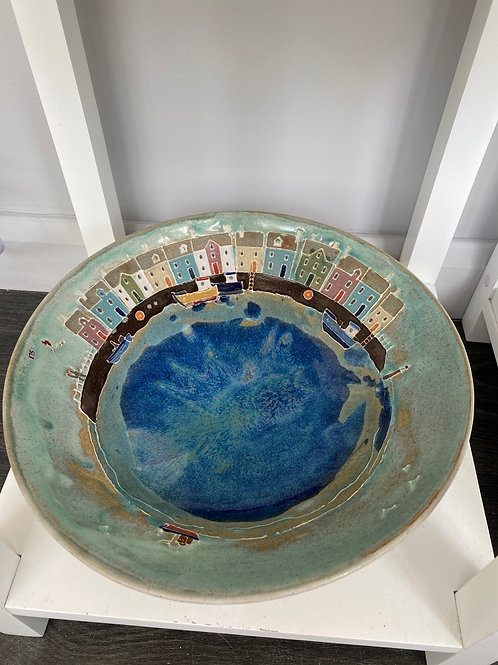Harbour Bowl by Fiona Osbalstone