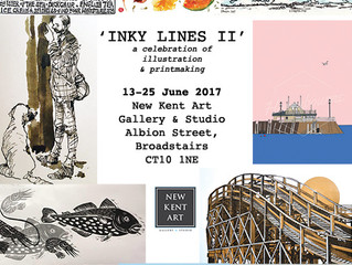 Inky Lines II - Celebrating Illustration & Printmaking