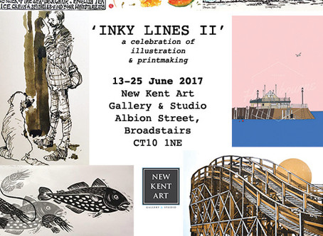 Inky Lines II - Celebrating Illustration & Printmaking