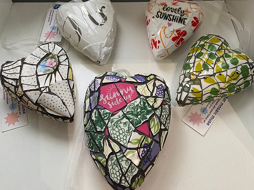 Mosaic Heart by Kate Baker