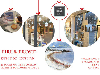 Fire & Frost Exhibition Opens!