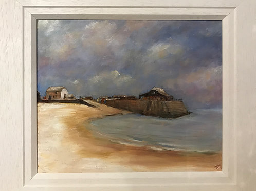 Soft Winter Light, Broadstairs by Karen Hiscock-Lawrence