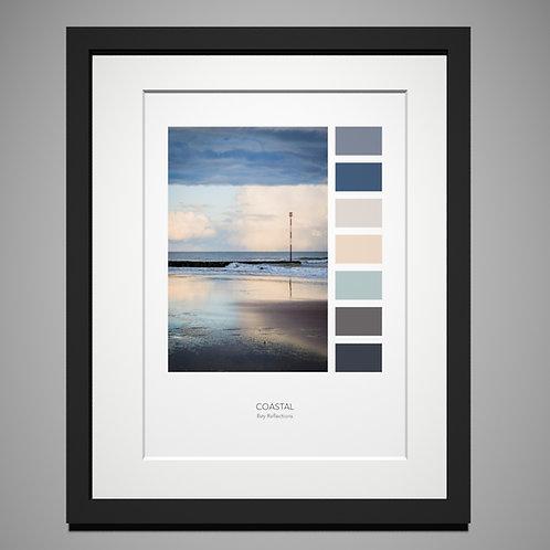 Viking Bay Palette Print by Eleanor Marriott
