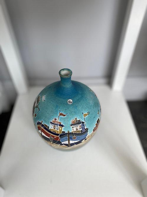 Boat Vase by Fiona Osbaldstone