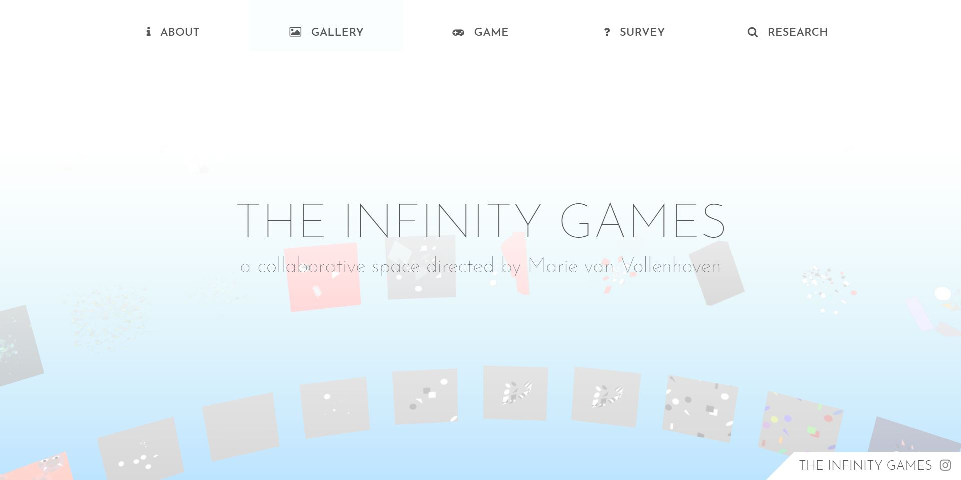 THE INFINITY GAMES