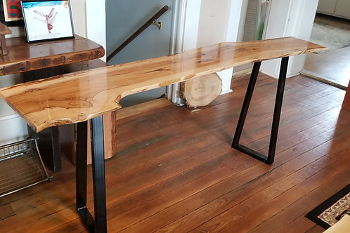 Live edge Butternut coffee table