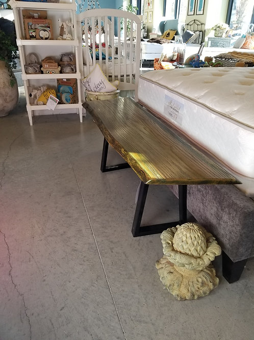 Red Oak End of Bed Bench