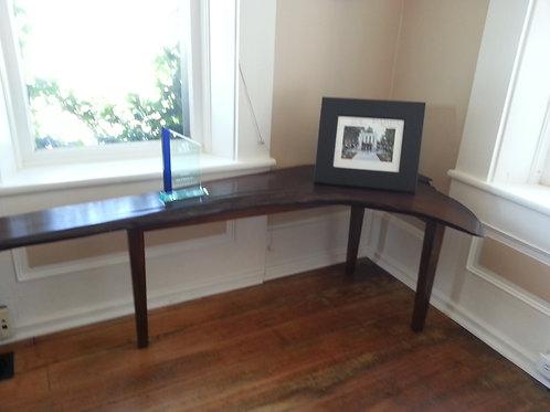 Salvaged Walnut Side Table