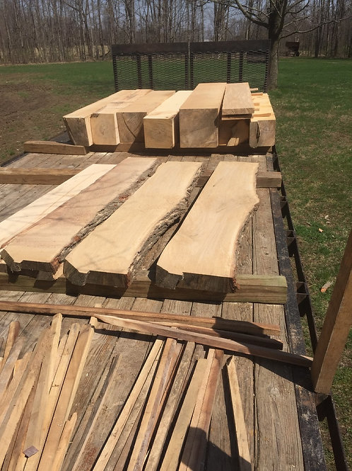 Slabs and lumber for projects!