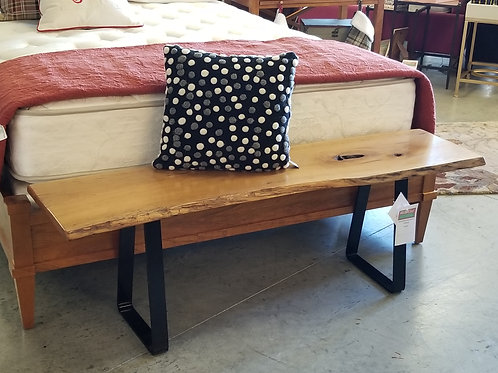 Cherry End of Bed Bench