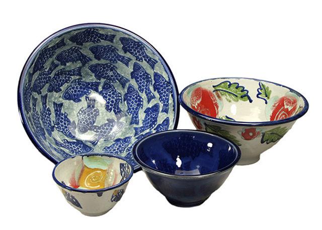 Scott Barnim handmade pottery.