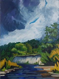 Richard Kowalchuk landscape painting.