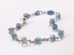 Fluorite-Nugget-and-Sterling-Silver-Necklace---225