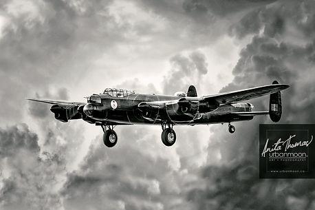 Anita Thomas - Avro Lancaster aviation photography