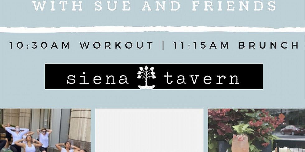Bootcamp and Bottomless Boozy Brunch w Sue and Friends