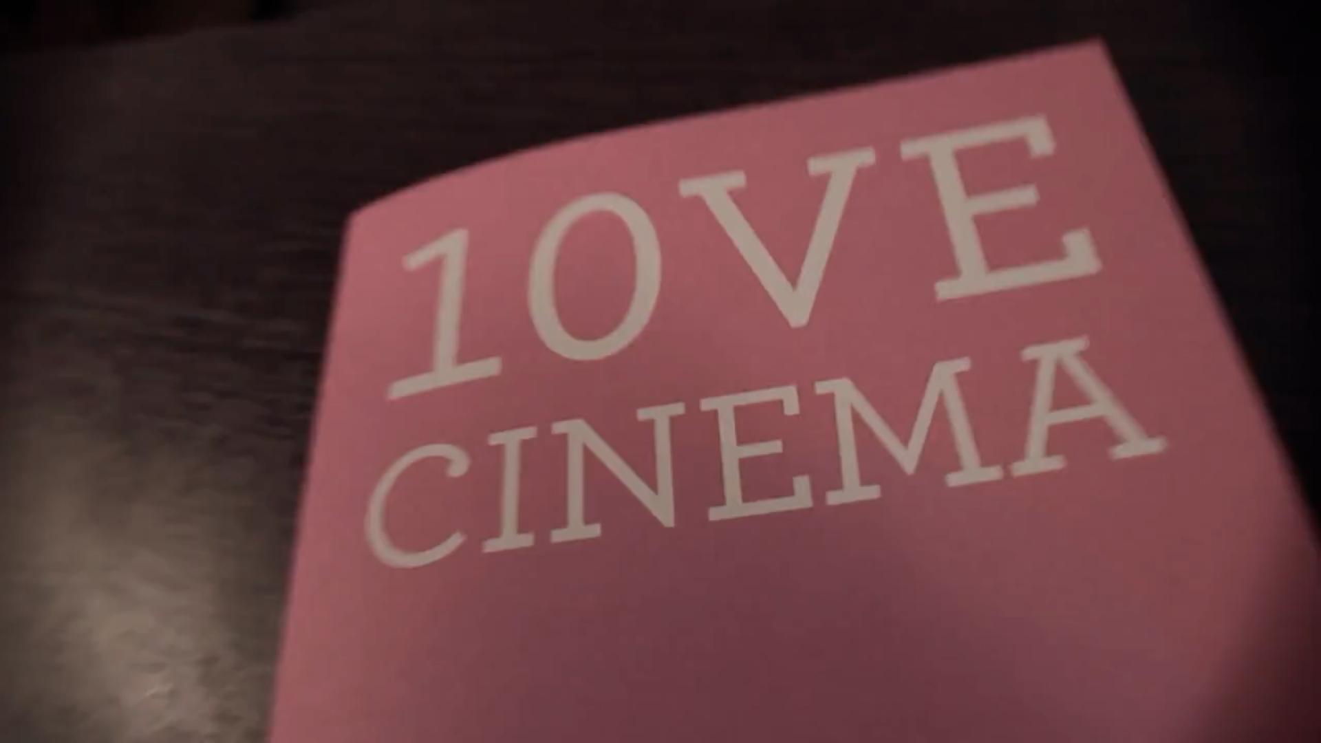 """De Mim"" in LOVE Cinema"