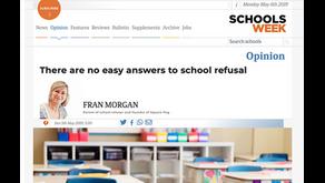 Schools Week opinion piece