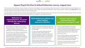 DfE behaviour consultation