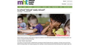 Is school 'refusal' really 'refusal'?