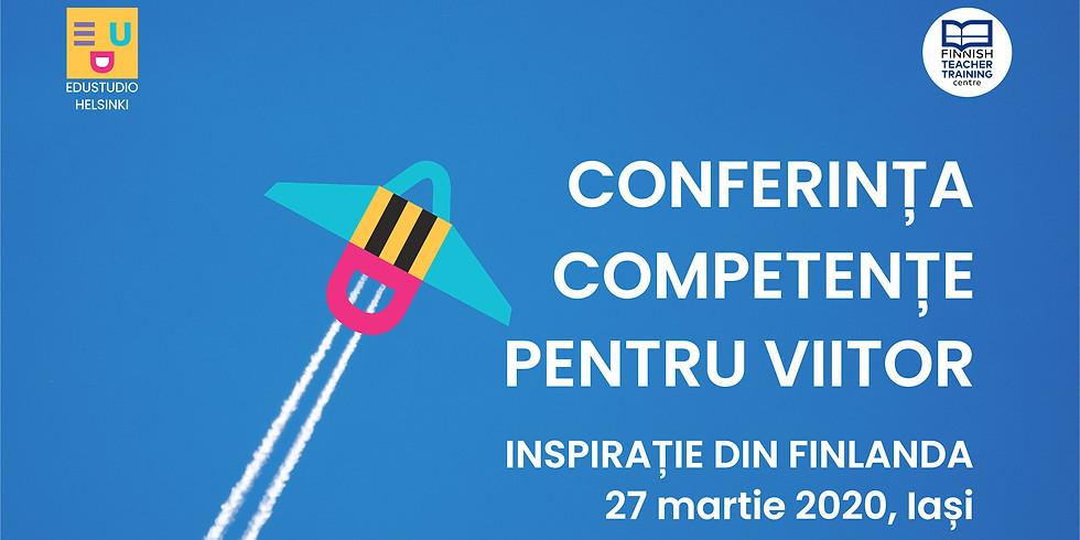 Conferința Competențe pentru viitor. Inspirație din Finlanda