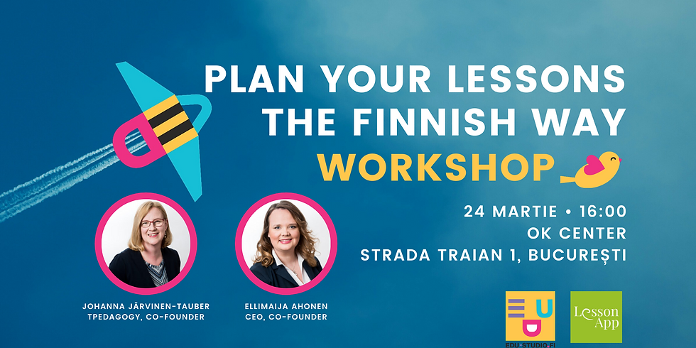 Workshop: Plan Your Lessons the Finnish Way