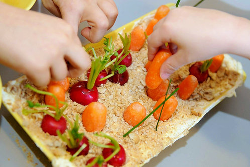 Mini grădină de ronțăit