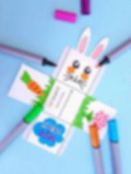 coșuleț de Paște din hârtie, activități de Paște pentru copii, DIY Paște