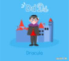 Descoperă România de la A la Z   Dracula   ilustrație Dracula