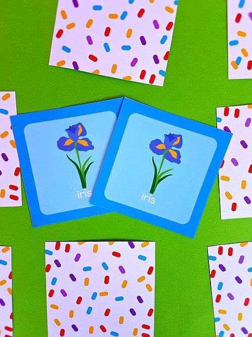 Joc de memorie cu flori