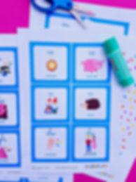 Un joc de memorie cu rime care se poate juca la școală sau acasă. Câștigă cel care găsește cele mai multe perechi de rime.La sfărșit puteți compune o poezie cu rimele găsite. Distracție plăcută!