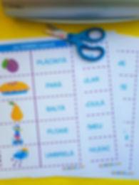 jocuri pentru clasa |  materiale didactice | domino toamna