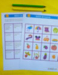 bingo de toamna | jocuri pentru clasa | materiale profesori | materiale elevi