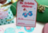 Etichete imprimabile pentru cadouri de Crăciun
