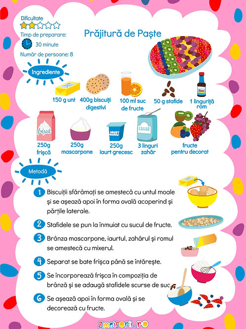Prăjitură de Paște
