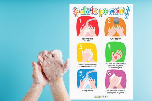 Spală-te pe mâini!