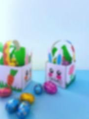 coș de Paște, materiale imprimabile de Paște, Paște fericit