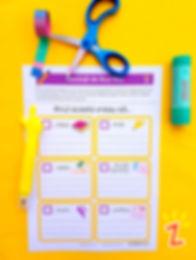 Rezoluții pentru Anul Nou. Scrie în fiecare căsuță un lucru pe care ai vrea să îl faci în acest an. Lipește fișa la tine în cameră, pentru a ține minte ce ți-ai propus. Bifează căsuța, atunci când ai realizat ceva din listă. Mult succes în noul an!