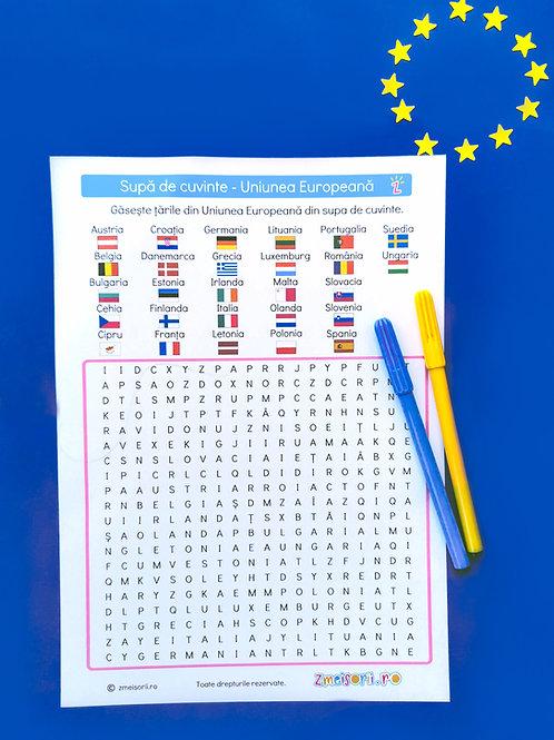 Supă de cuvinte cu Uniunea Europeană