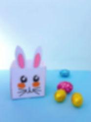 coș de hârtie, materiale imprimabile de Paște, Paște fericit