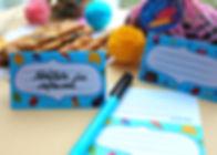 Etichete colorate perfectepentrumese festive sau cadouri culinare.