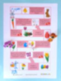 materiale didactice și activități de Paște   Joc de Paște