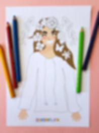 ziua iei | pagina de colorat ie | ie de colorat | Sânziene | Zmeisorii