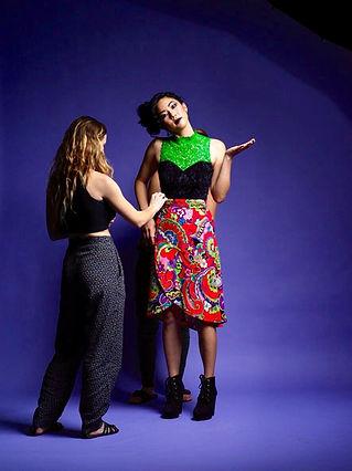 Emma Charles styling for Prolific Quartely Magazine