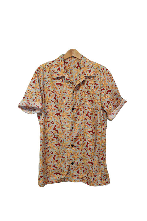 90s Trippy 420 Button Up -M/L