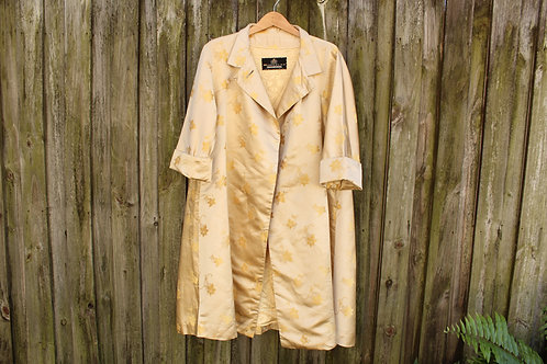 Vintage Silk Chinese Coat - M/L/XL
