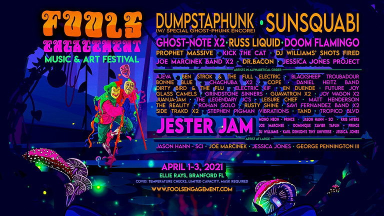 Fool's Engagement Music Festival 2021