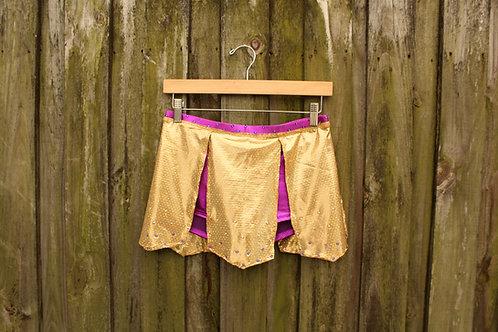 Rave Gladiator Costume Skirt - S/M